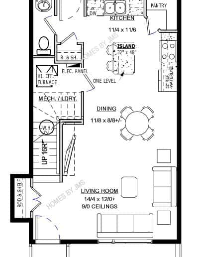 The Brooklyn main floor income property layout